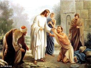 Jesus cuidado dos pobres